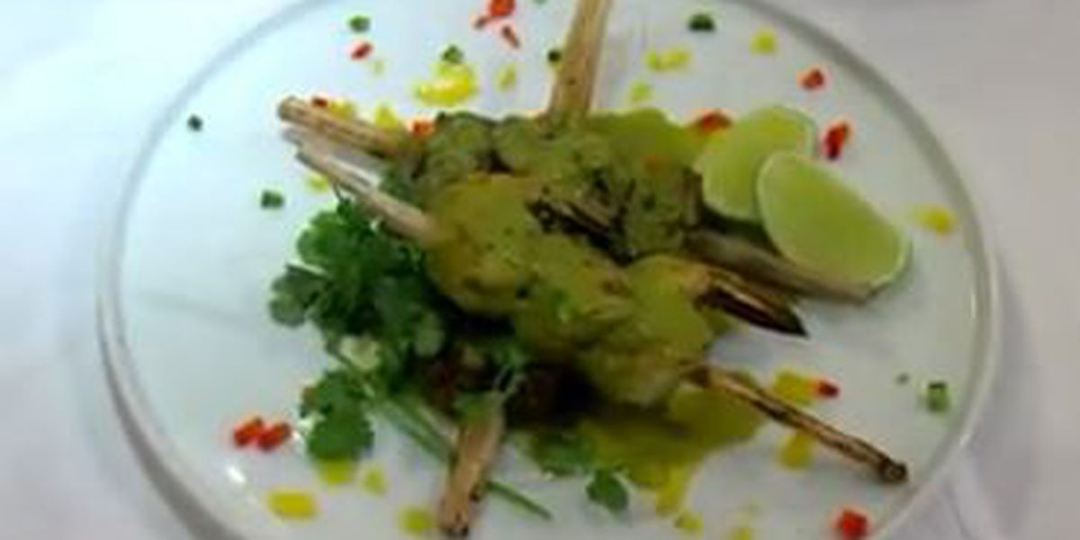 Chef John Folse: Sugarcane skewers