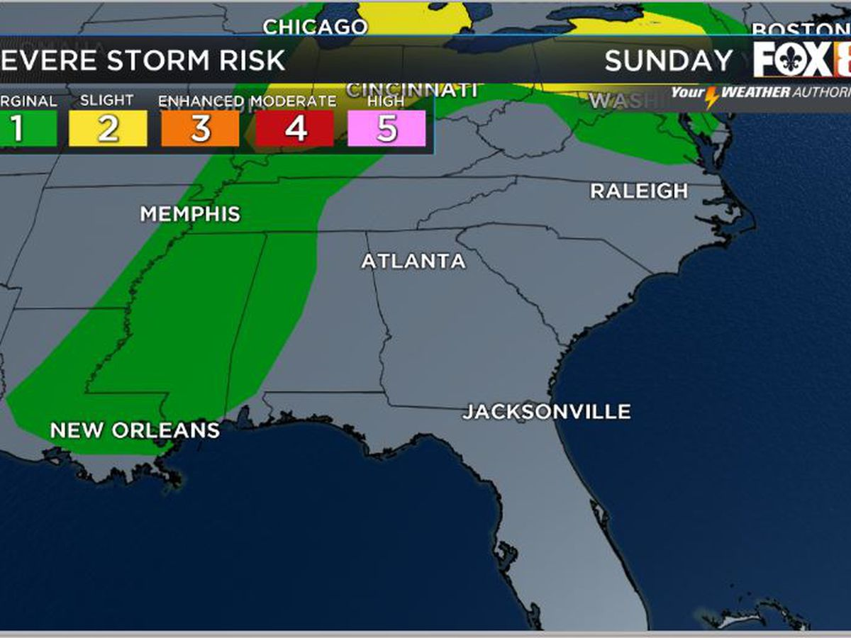 Nicondra: More storms likely for Sunday