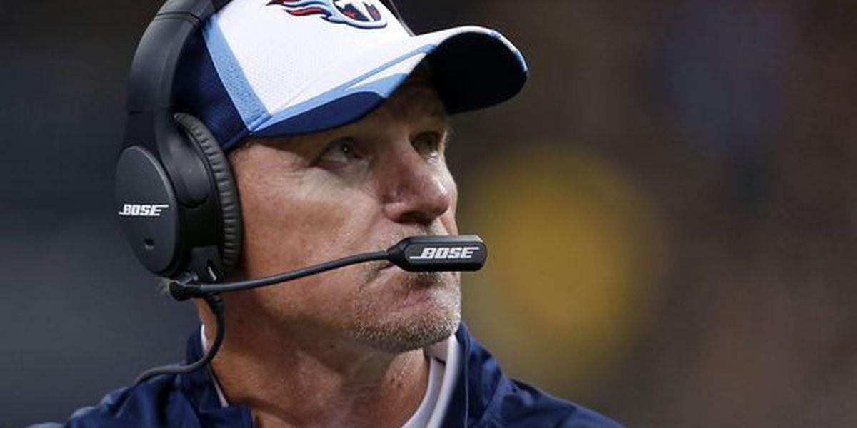 Titans fire head coach Ken Whisenhunt