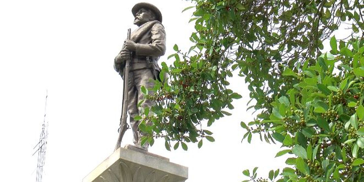 Confederate monuments in Gulfport called into question during meeting of Harrison Co. Board of Supervisors