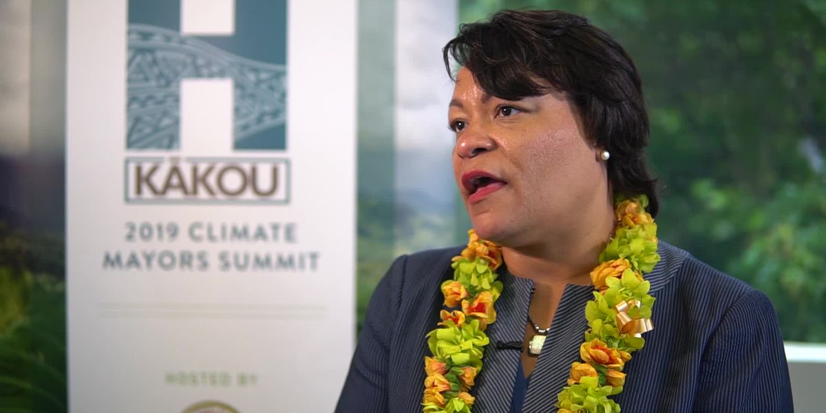 LaToya Cantrell At Climate Summit