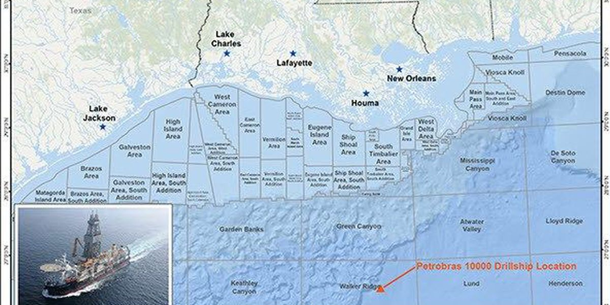 Oil Rigs In Gulf Of Mexico Map.Worker Dies On Oil Rig In Gulf Of Mexico