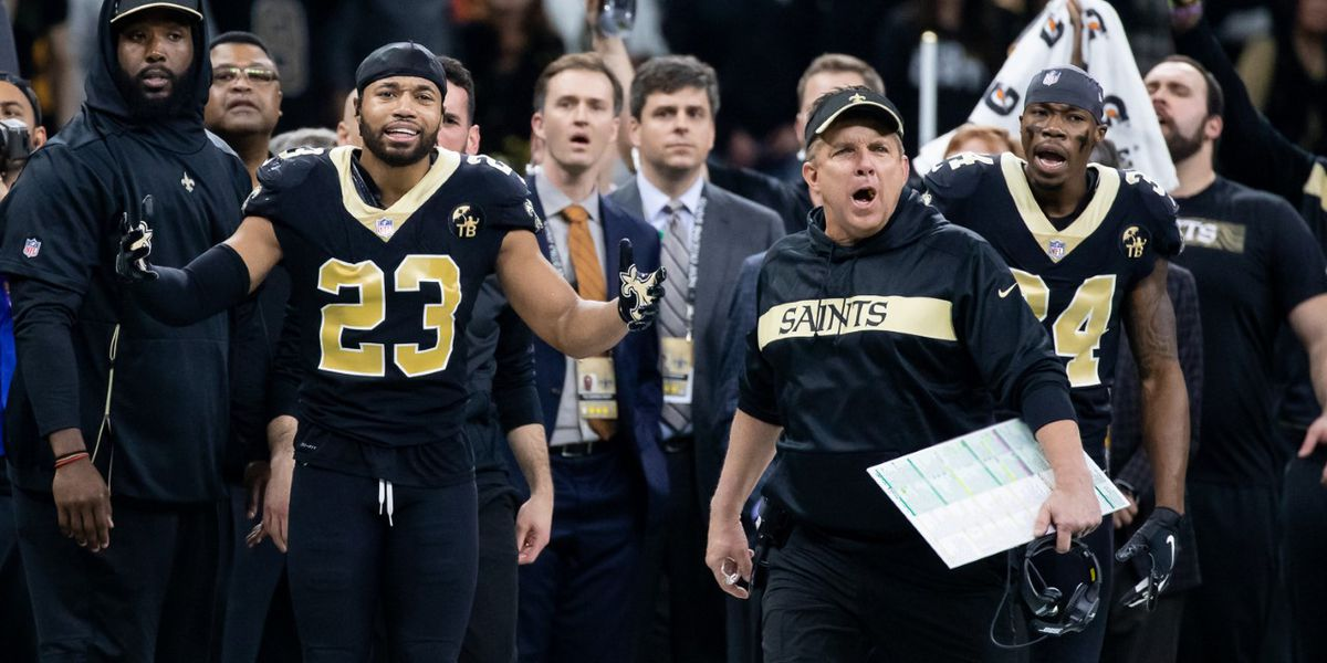 Online betting site to credit Saints bets over NFC Championship non-call