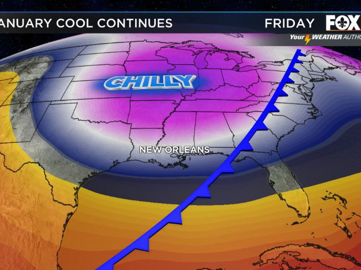 Another cold front by Friday
