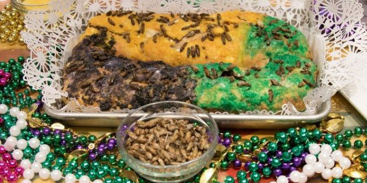 I'll take my king cake with.....crickets???