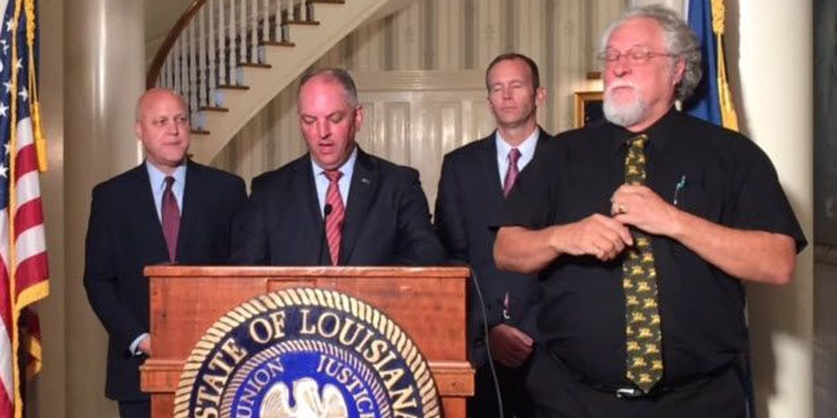 Gov. Edwards releases statement after Louisiana is spared by Nate