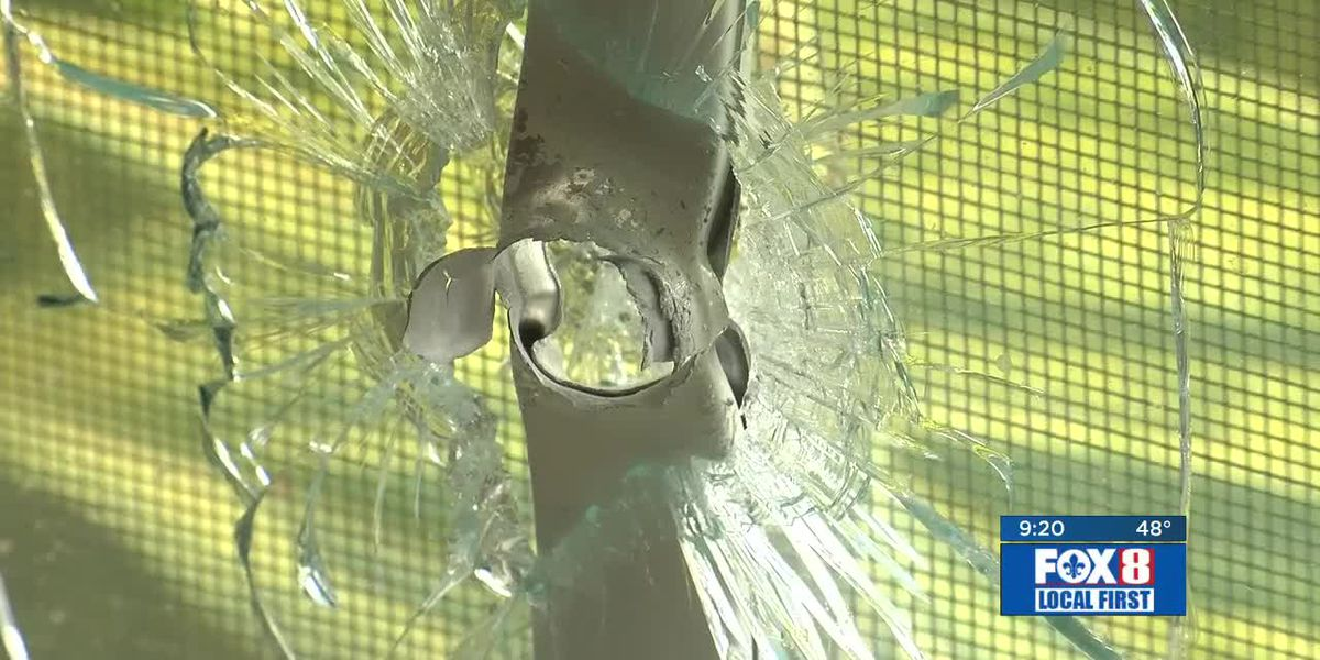 Gentilly family returns to find home riddled with bullets