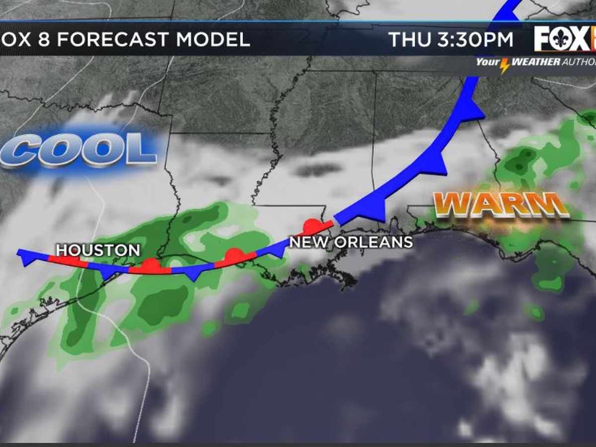 Bruce: Wet weather returns mid-week