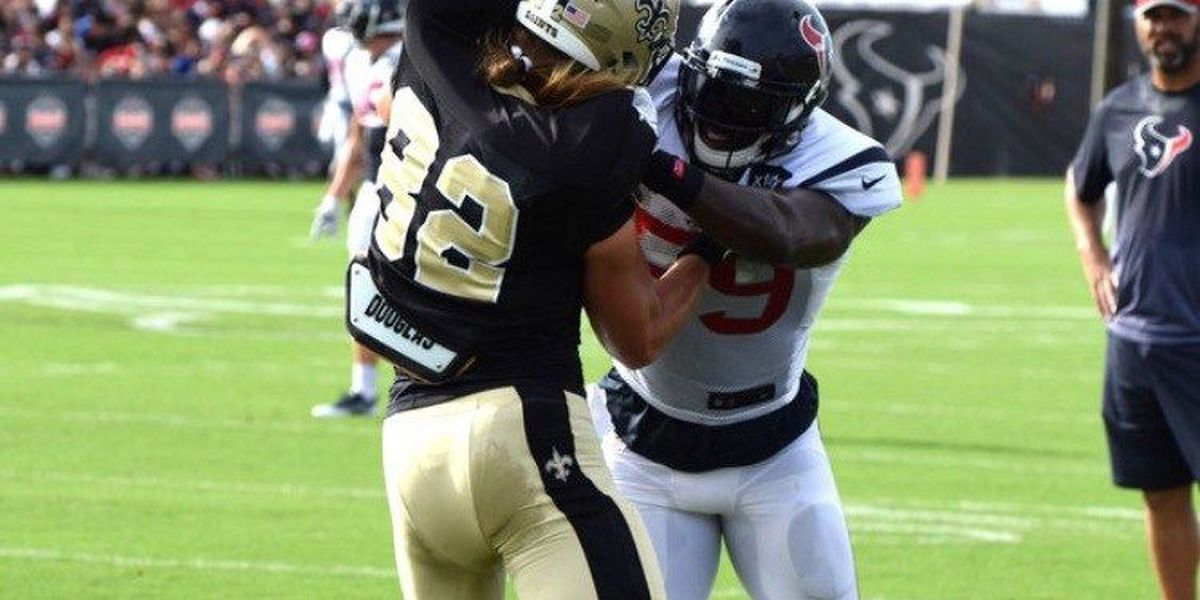 Saints continue training camp in Texas