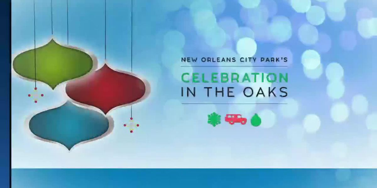 Celebration in the Oaks driving tour