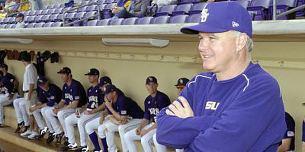 LSU Baseball preparing for Auburn and tricky weather