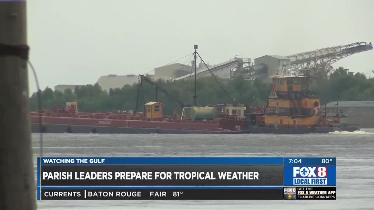 Army Corps of Engineers monitor river levels ahead of severe