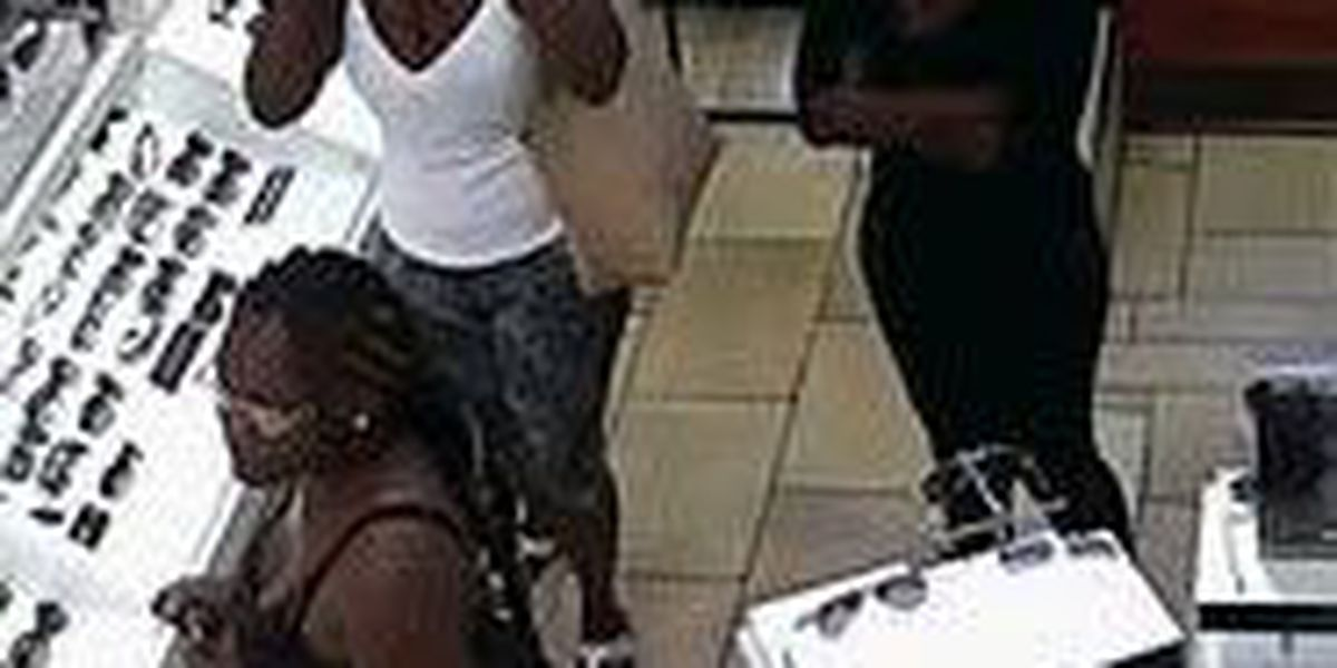 Store hit twice by women stealing pricey sunglasses