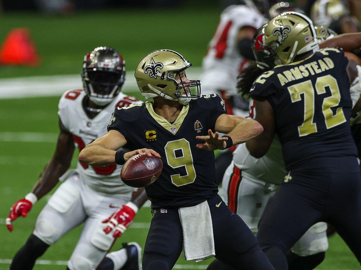 Saints making final preps before facing Raiders on Monday Night Football