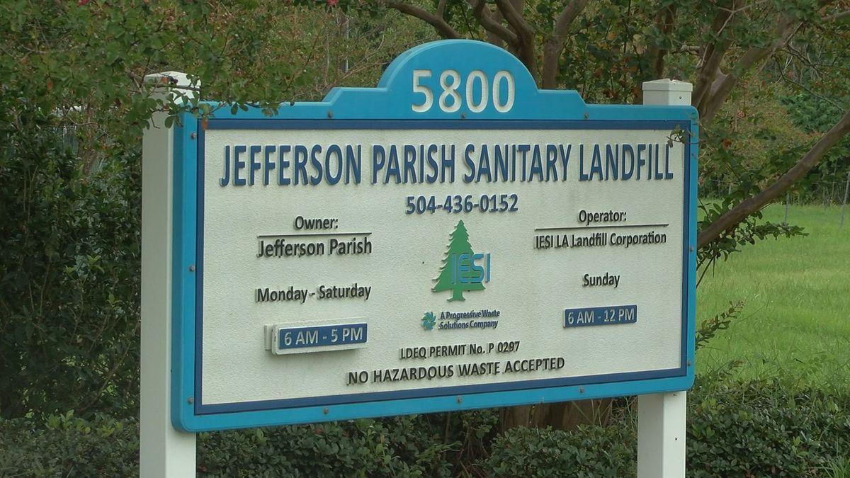 Jefferson Parish president questions need of landfill