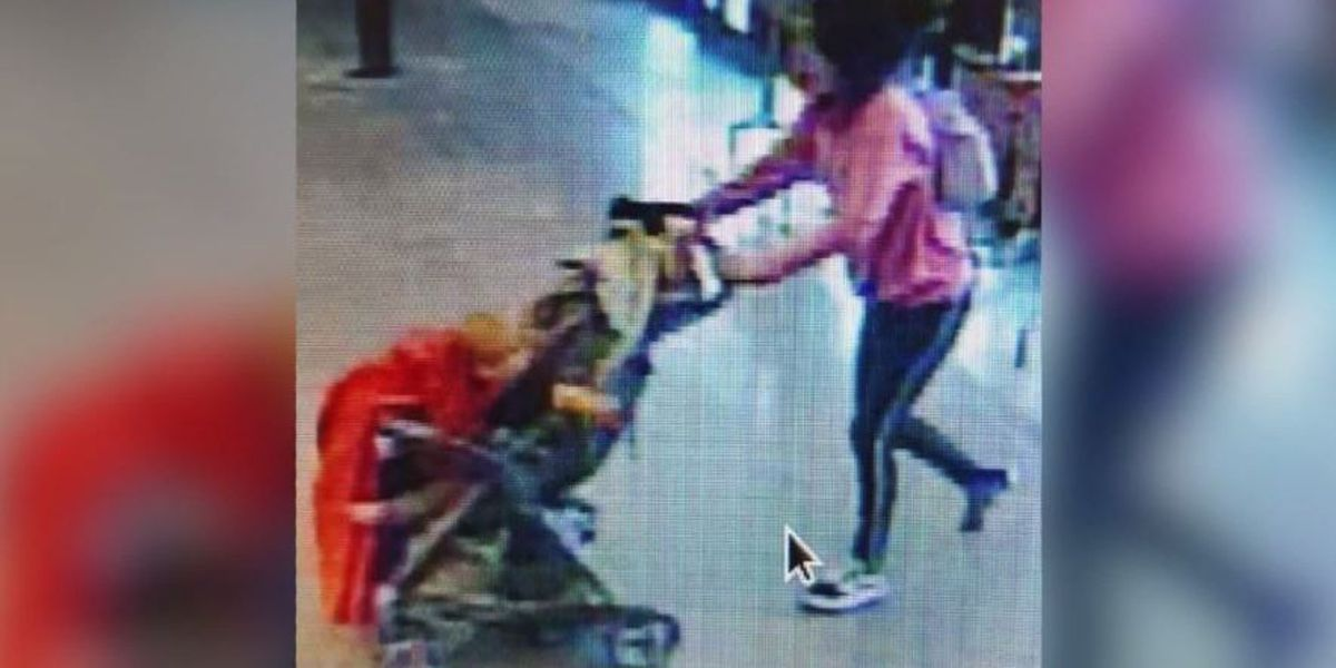 Sleeping baby found alone near Phoenix grocery store; police accuse woman of abandoning him