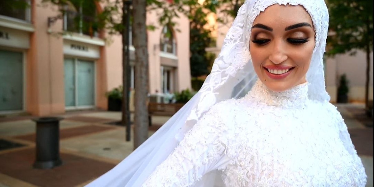 Bride in Beirut wedding photo shoot speaks about explosion