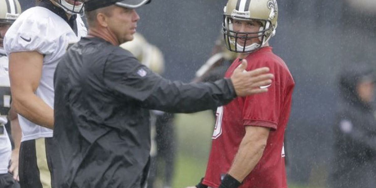 Brees and Brady relationship goes back to college days