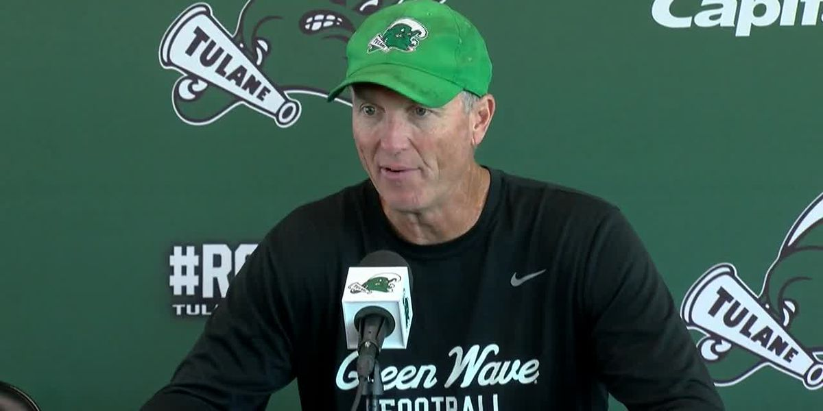 Tulane's Willie Fritz previewing Memphis