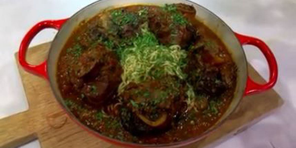 Chef John Folse: Veal osso buco