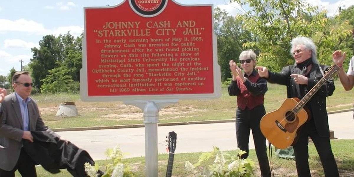 Mississippi Country Music Trail adds marker honoring Johnny Cash