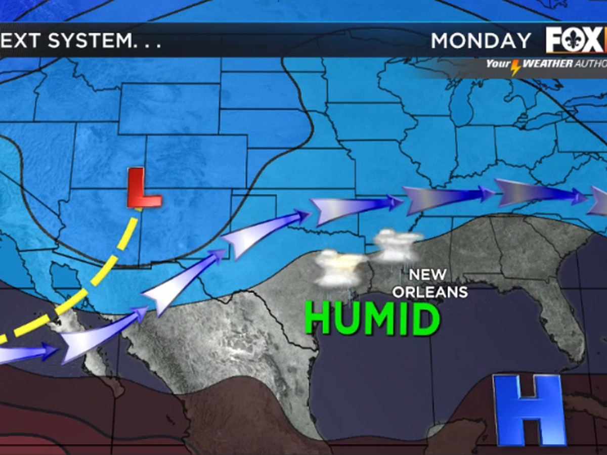 Nicondra: Rain back for the start of the week
