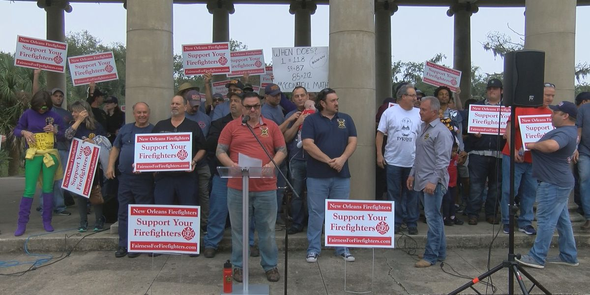 Union leaders respond as NOFD dispute could extend beyond Mardi Gras