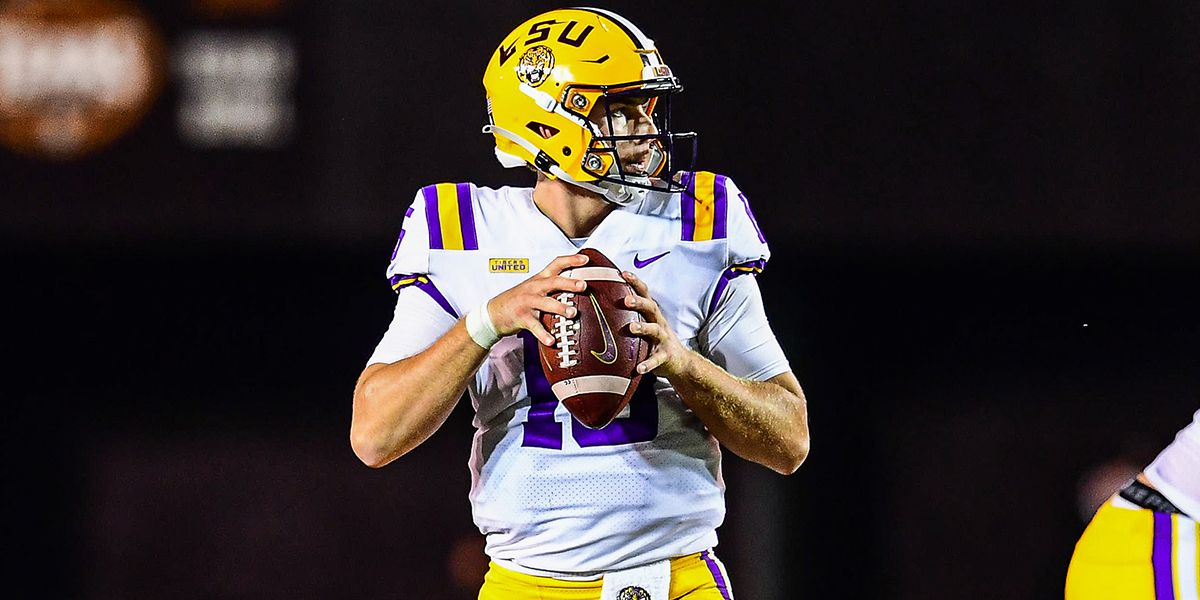 Orgeron: Myles Brennan questionable for South Carolina game