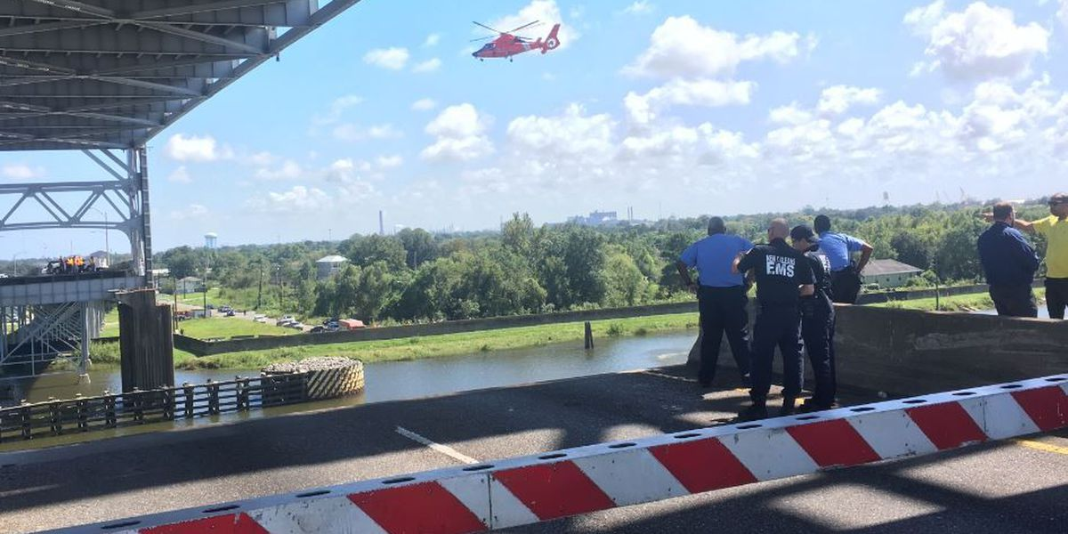 Judge Seeber Bridge reopens after car plunges into Industrial Canal
