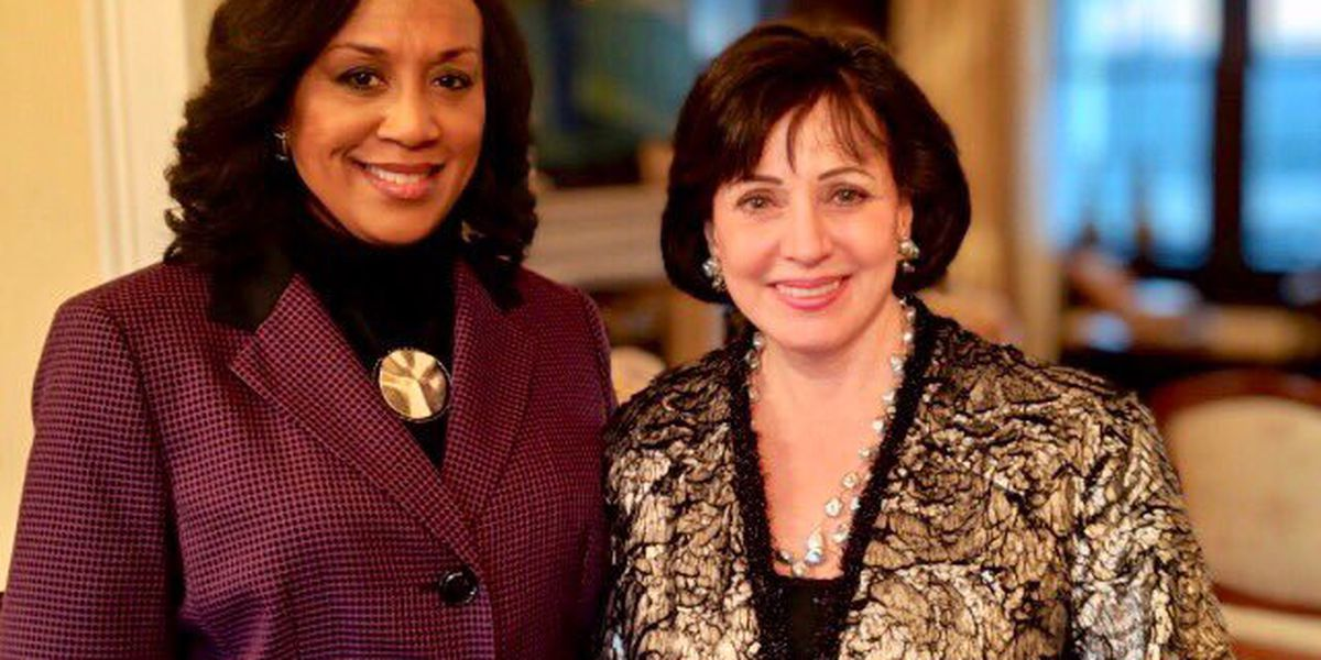 'She will be sadly missed.' Gayle Benson on death of Nancy Parker