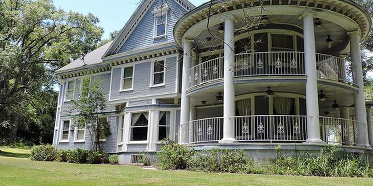 Take a look at this historic 1900s era home for sale in Leesville