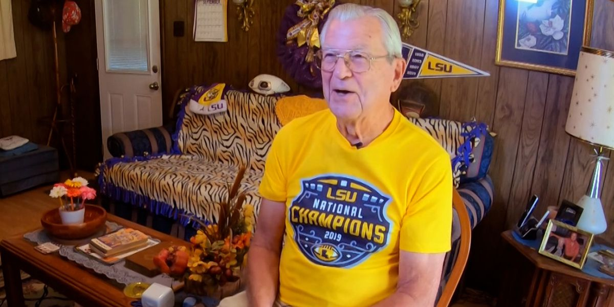 Donated ticket keeps 86-year-old LSU fan's 433-game attendance streak alive