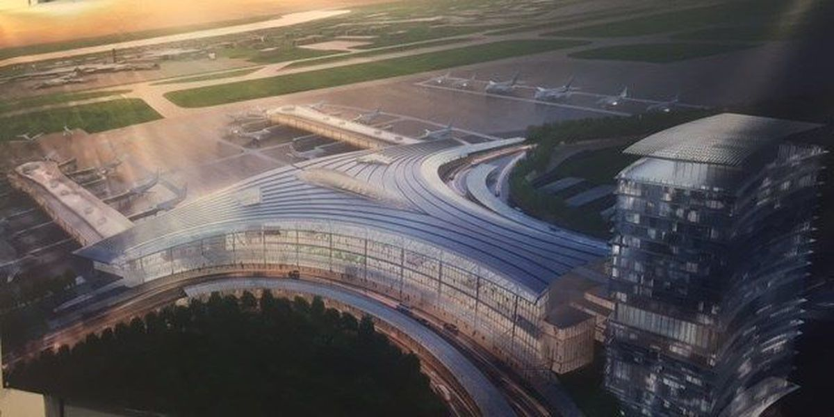 New Armstrong airport terminal to include hotel project
