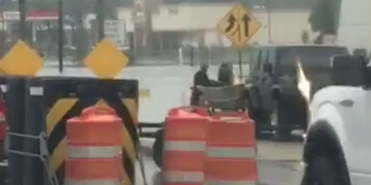 Louisiana Cajun Navy faces alleged gunfire from TX looters