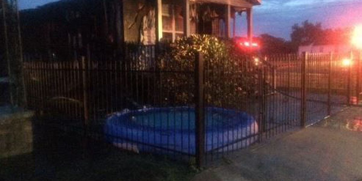 New Orleans Fire department douses a house fire in St. Claude neighborhood