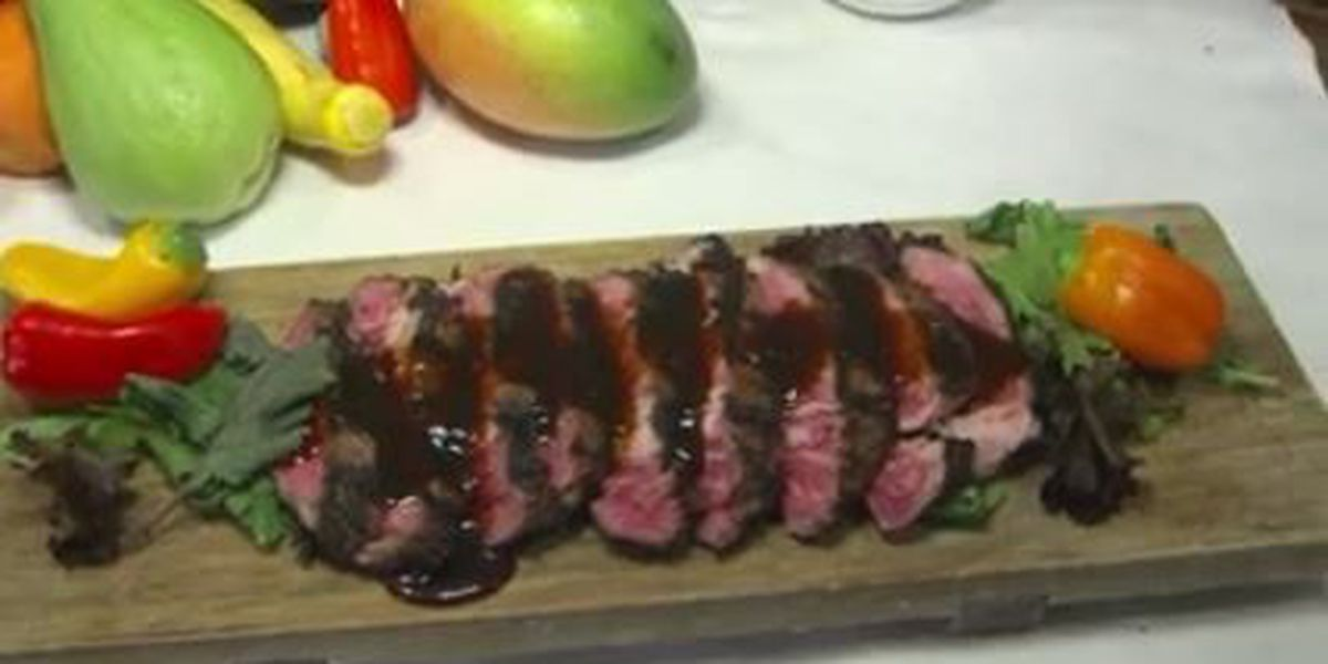 Chef John Folse: Bourbon and brown sugar flank steak