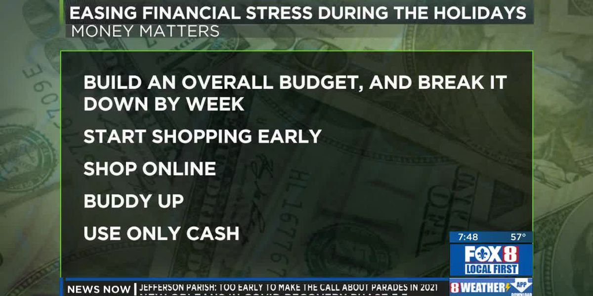 Ease financial stress during the holiday season