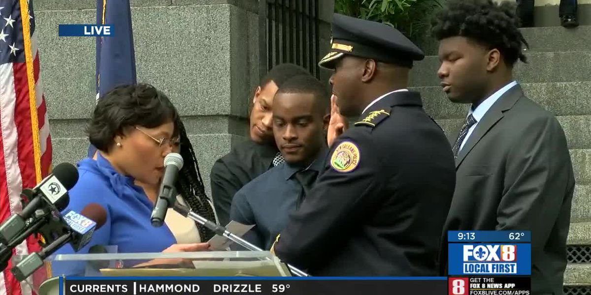 Police Chief Shaun Ferguson Sworn In