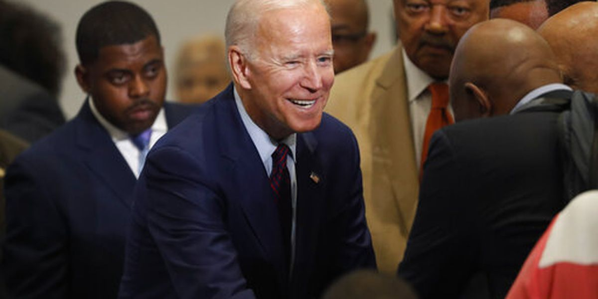 Joe Biden tours New Orleans community youth center