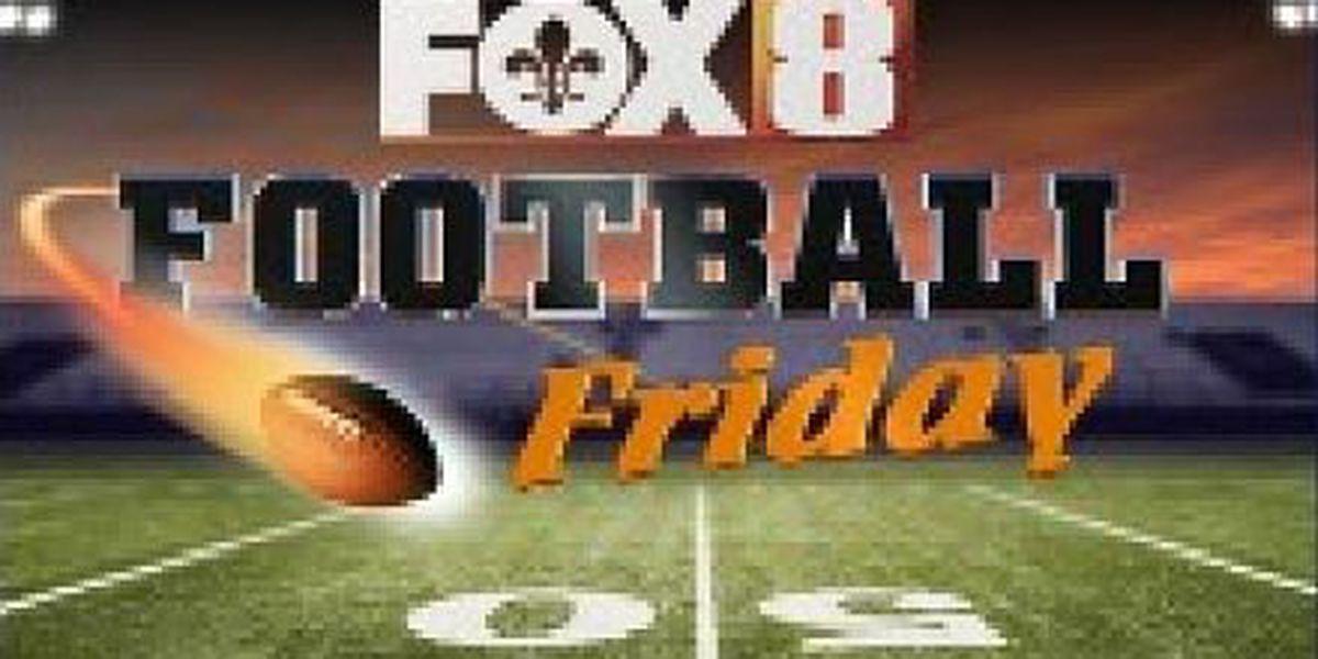 FOX 8 Football Friday Prep Scores: Oct. 28, 2016