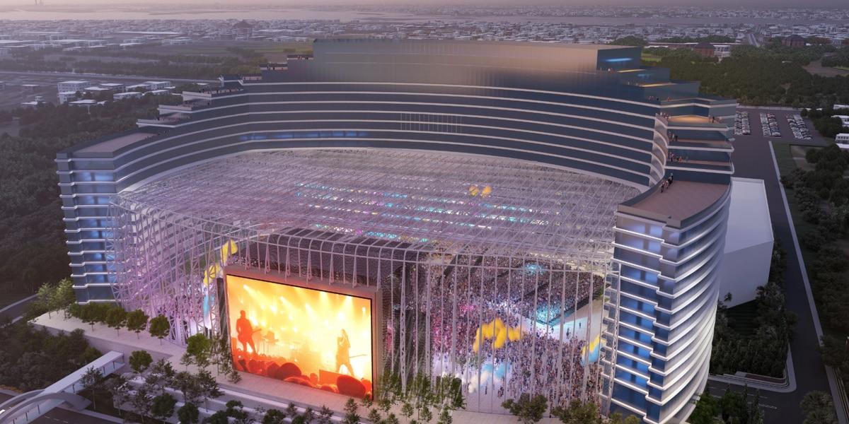 New details released on Biloxi's new $1.2 billion hotel, entertainment destination