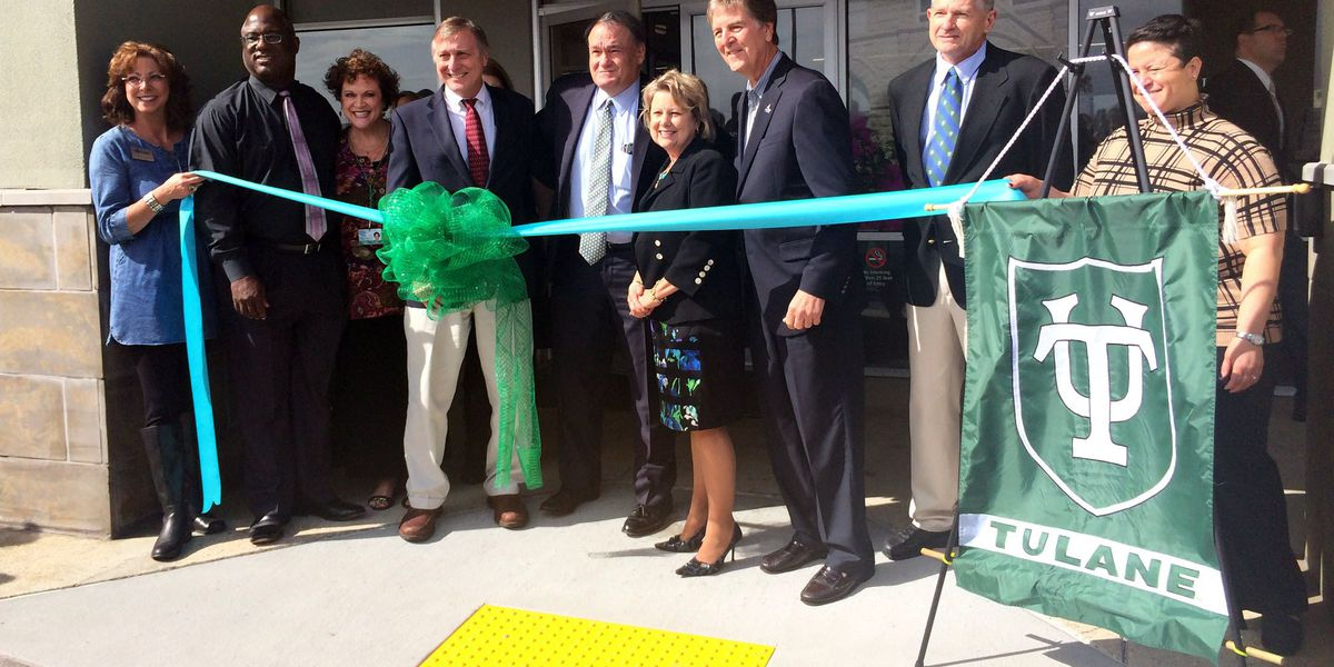 Tulane officially welcomes newly built campus in Mississippi