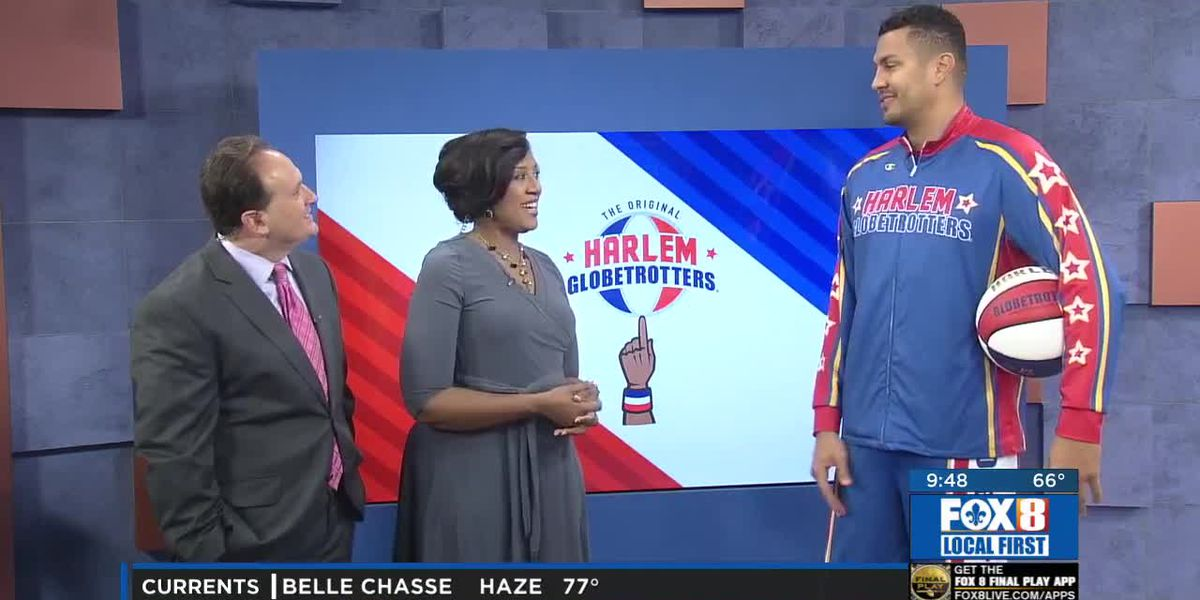 Harlem Globe Trotters Return to New Orleans
