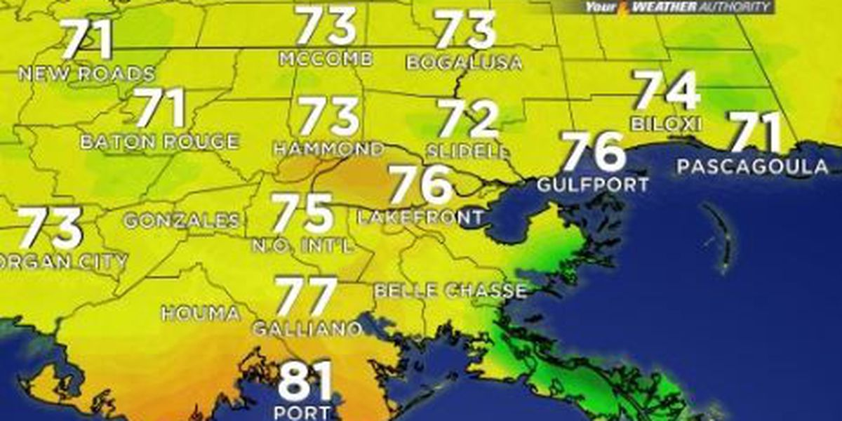 Your Weather Authority: Storm chances to remain higher