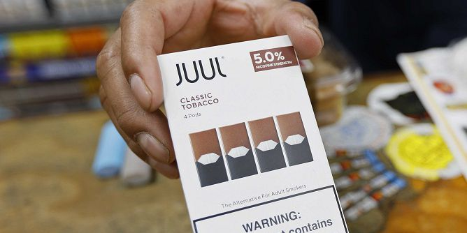 Juul warned over claims its e-cigarette is safer than smoking