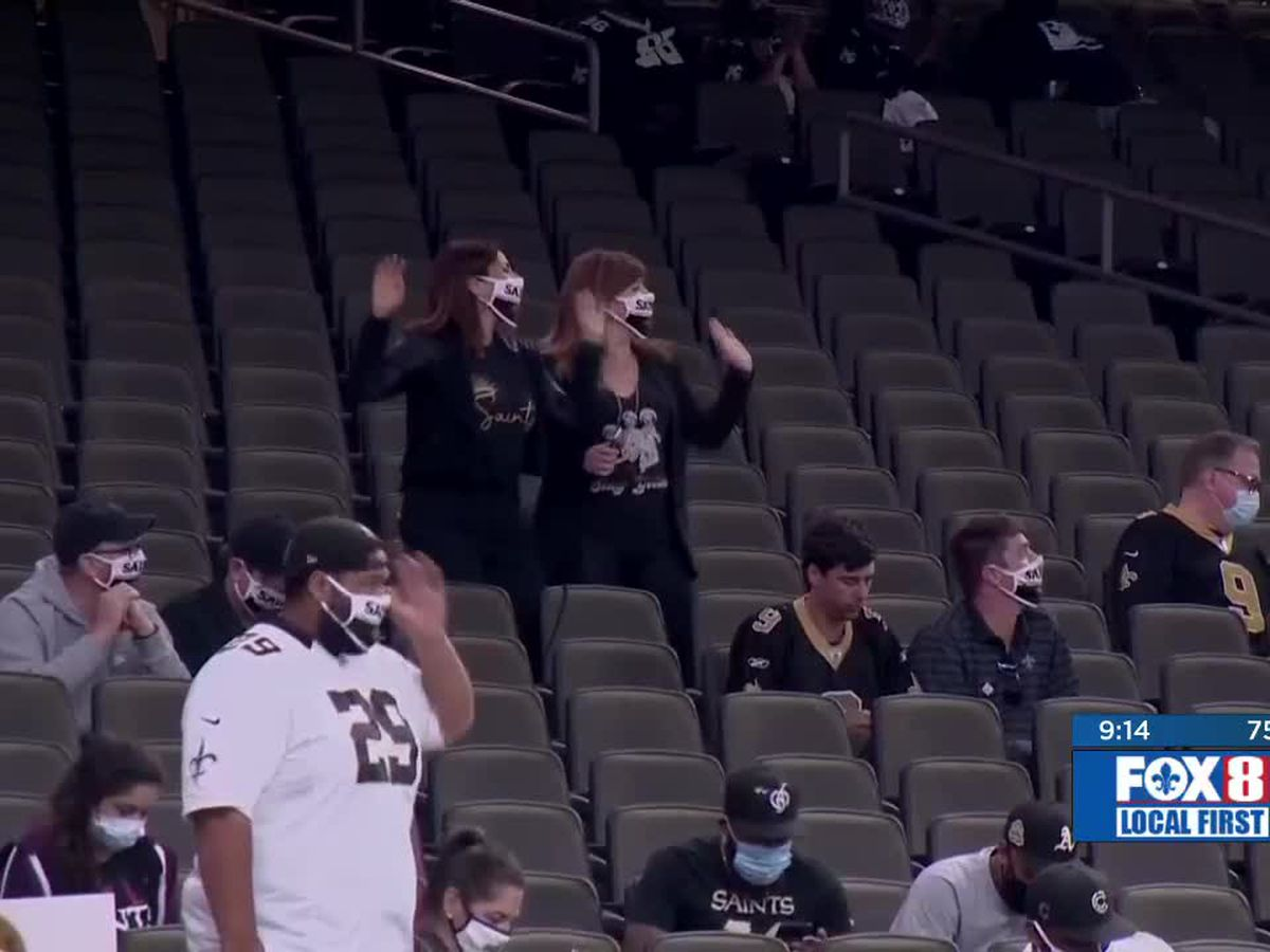 3,000 fans allowed for Saints vs Panthers game Sunday in Superdome
