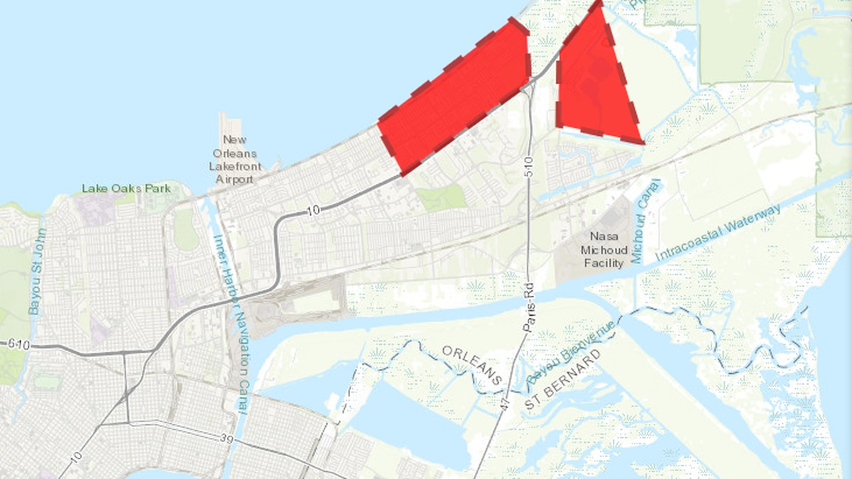 Boil water advisory lifted in eastern new Orleans