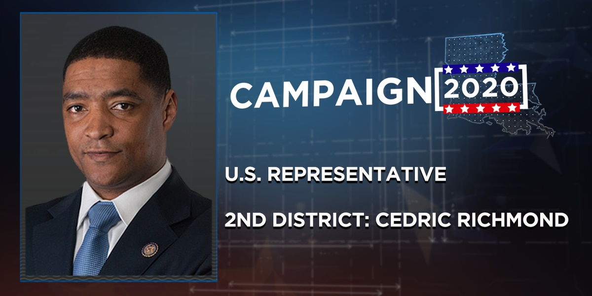 Cedric Richmond re-elected to U.S. Rep. 2nd Congressional District seat