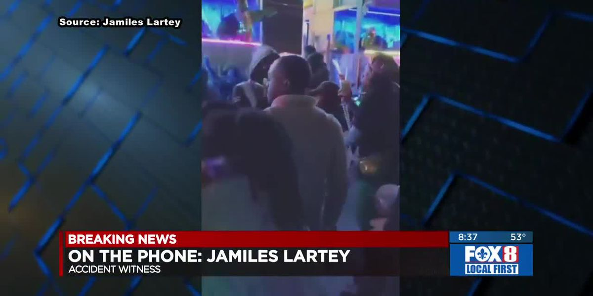 Jamiles Lartey - witness to fatal float accident
