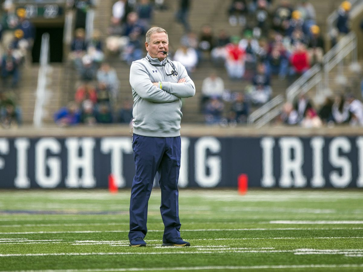 AP Coach of the Year: Notre Dame's Kelly wins for 2nd time